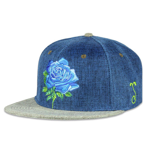 Stanley Mouse Blue Rose Fitted