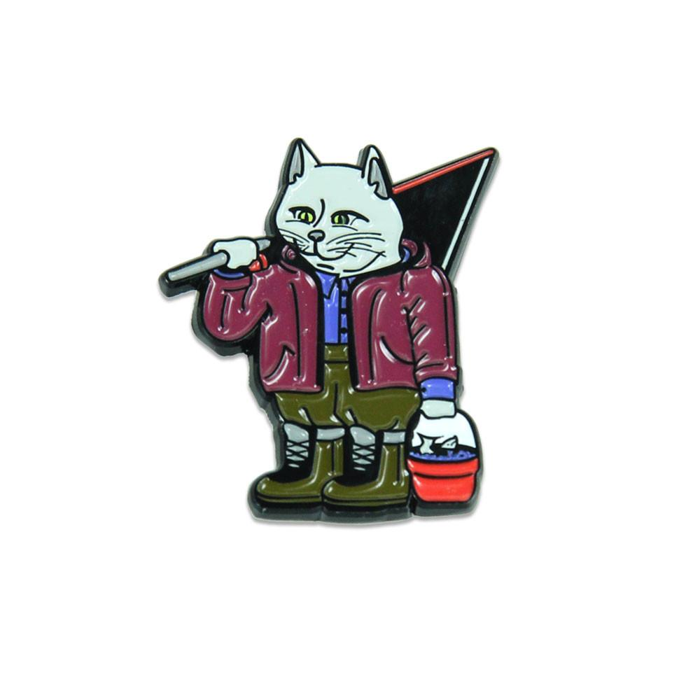 Leisure Cat Pin
