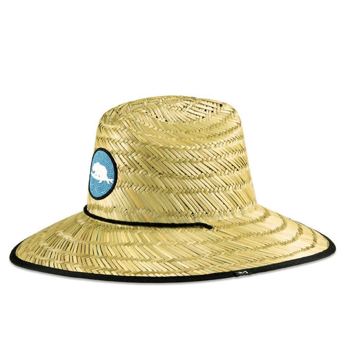 Surfing Bear Straw Hat