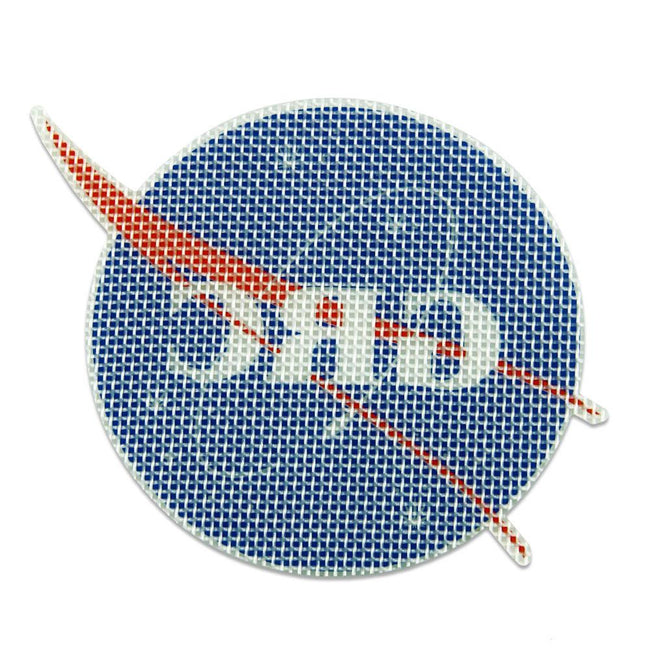 "Space Program 4"" Silicone Coaster"