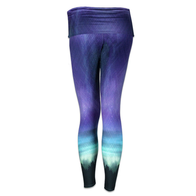 Camproots Purple Yoga Pants