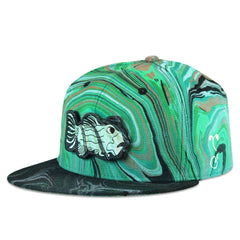 BL Visuals Jerry Garcia Removable Fish Snapback