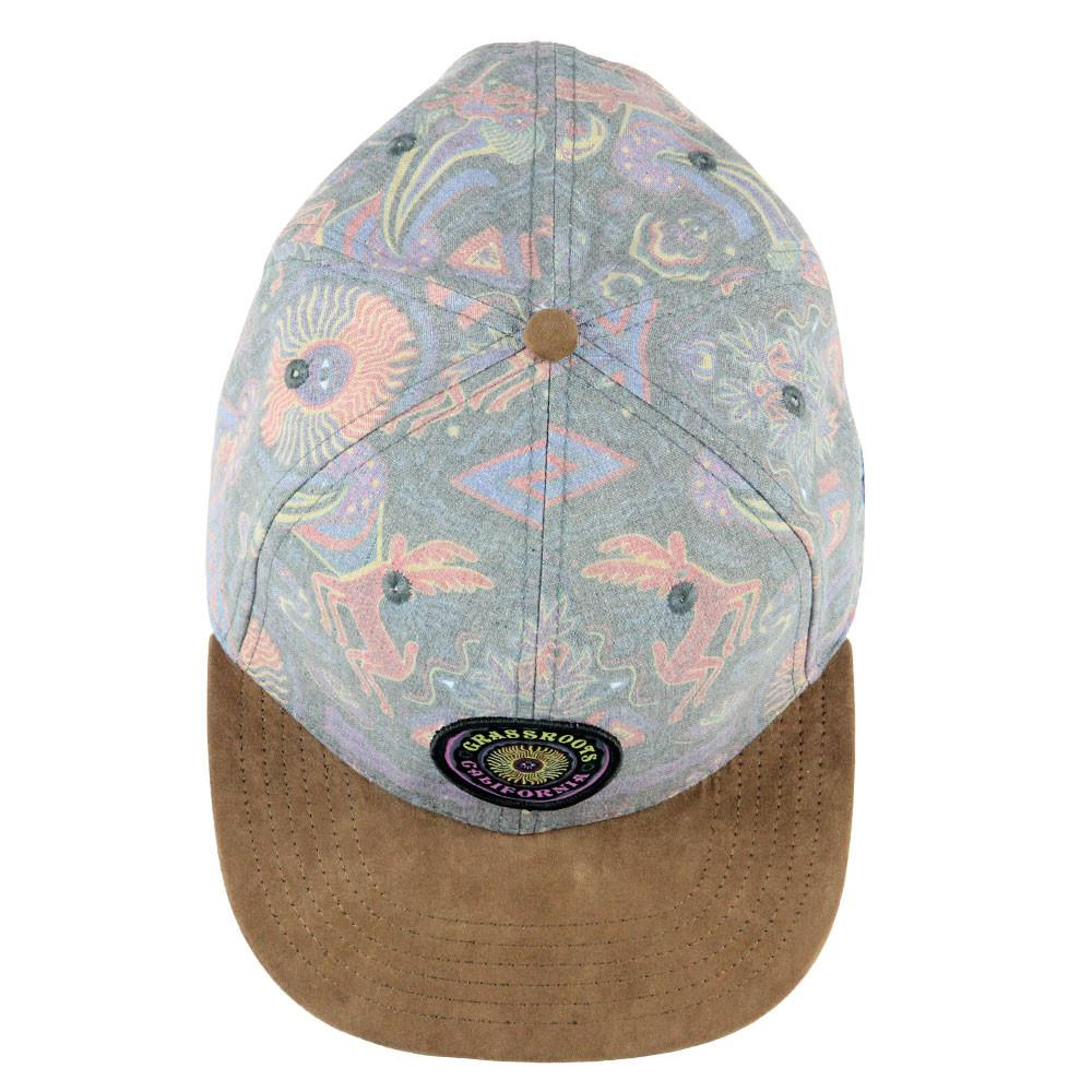 Shaman Eye Distressed Strapback