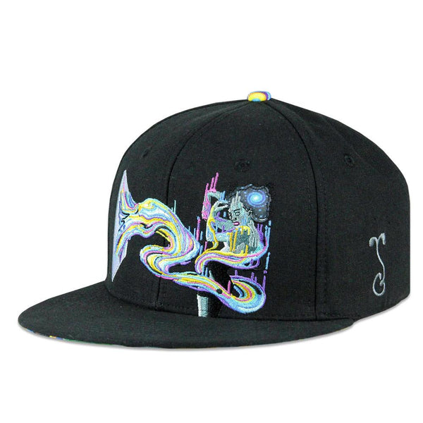 Dela Elevate Black Snapback
