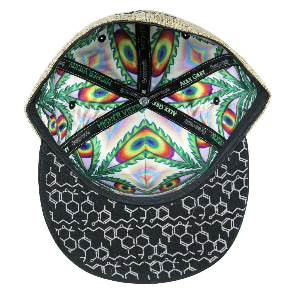 Alex Grey Higher Vision 2017 Tan Black Fitted
