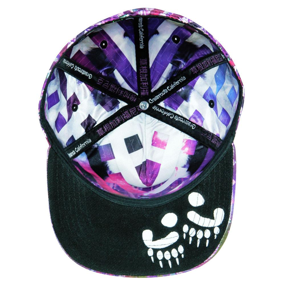 Psychedelic Panda Fitted