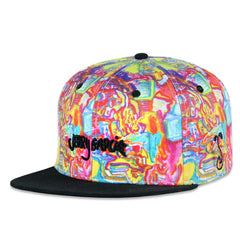 Jerry Garcia Dripping Graffiti Snapback
