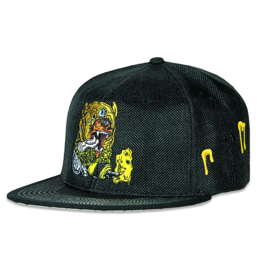 Aaron Brooks Bear Bee Black Snapback
