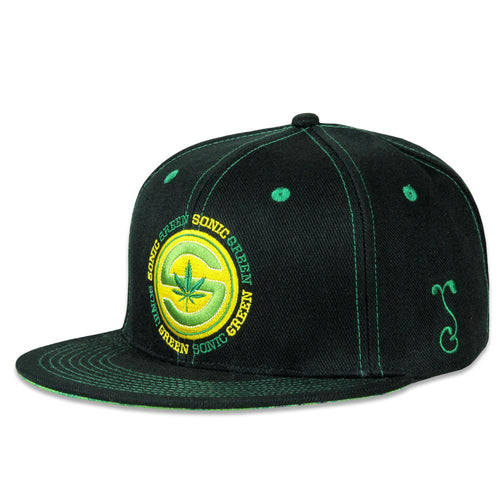 Sonic Green Black Fitted