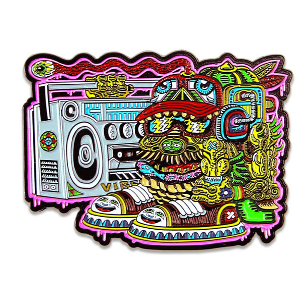 Chris Dyer Ugly But Happy Pin
