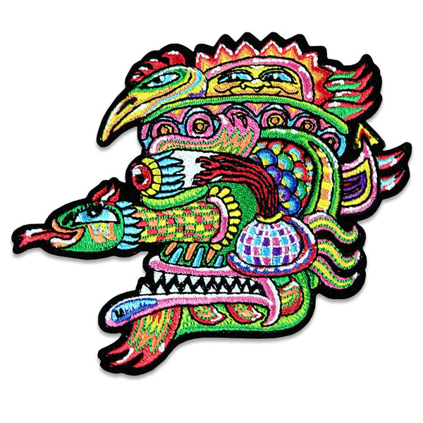 Chris Dyer Snake Iron-On Patch