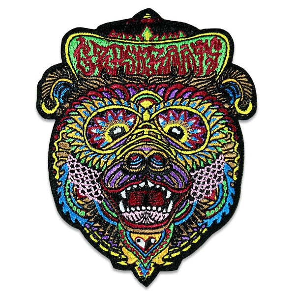 Chris Dyer Bear Iron-On Patch