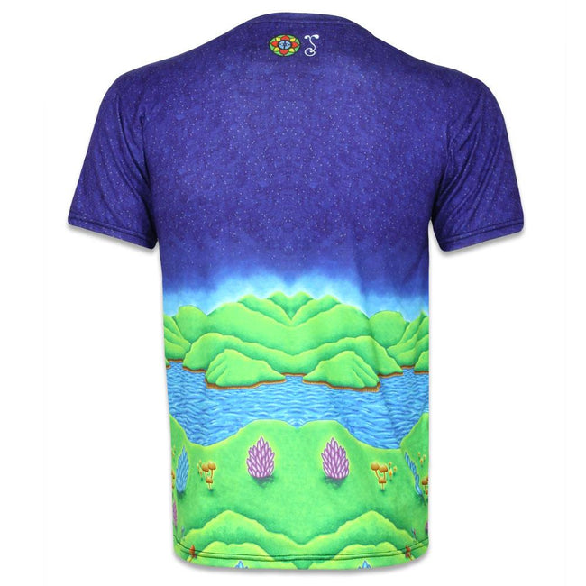 Chris Dyer Muncher of Mushroomland T Shirt