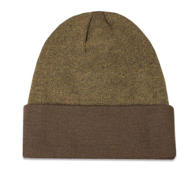 Venice Beach Marble Knit Brown Beanie