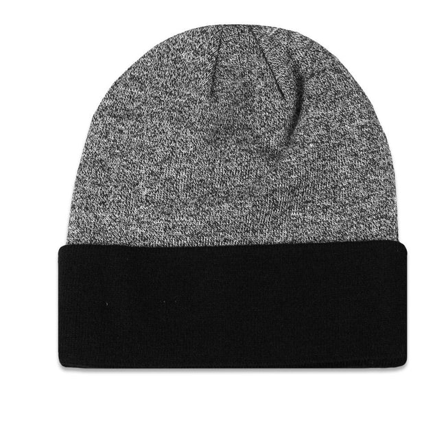 Venice Beach Marble Knit Black Beanie