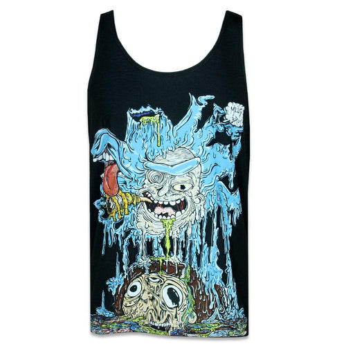 MeltyBros Rick and Morty Mens Tank