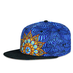 Phil Lewis Mandala Blue Fitted