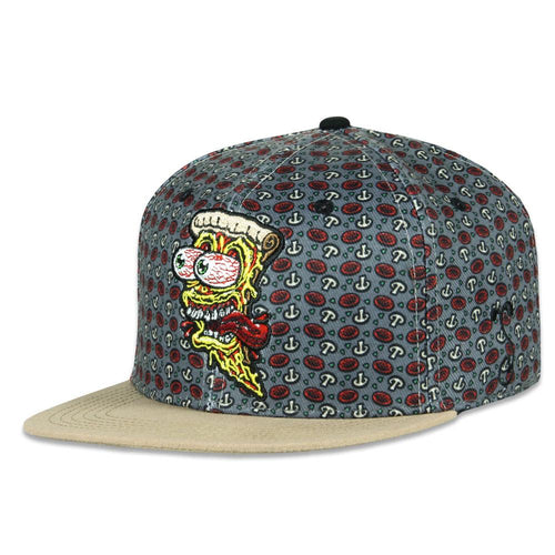 Jimbo Phillips Screaming Pizza Allover Kids Snapback