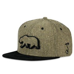 Removable Bear Country Club Snapback