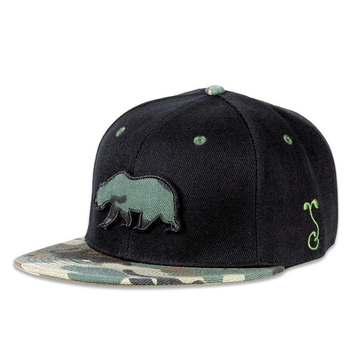 Removable Bear Classic Camo Fitted