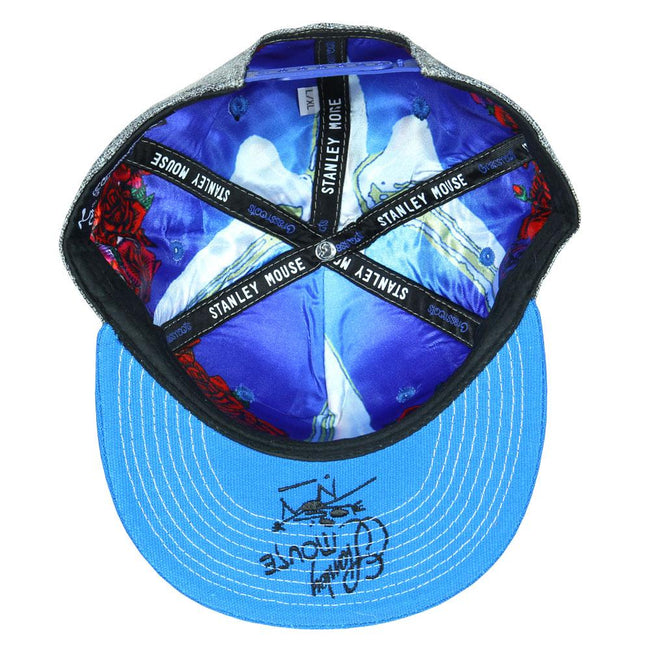 Stanley Mouse Cyclops Blue Snapback