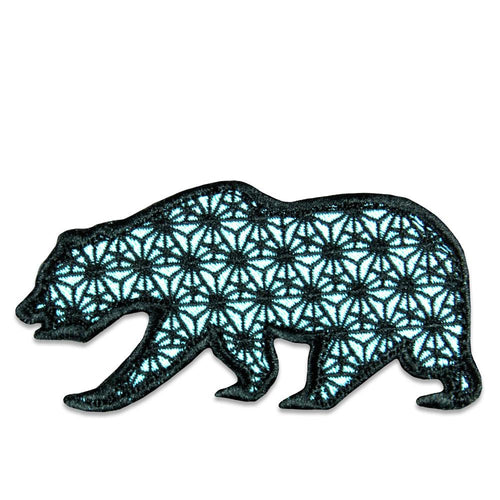 Sacred Geometry Glow Removable Bear Patch