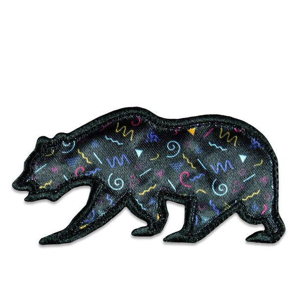 Cali Vice Roots Pattern Removable Bear Patch
