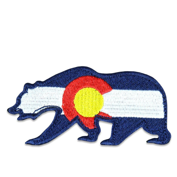 Colorado Flag Removable Bear Patch