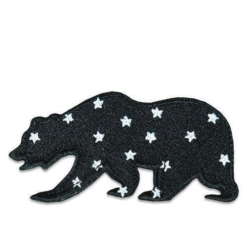 Space Program Stars Removable Bear Patch