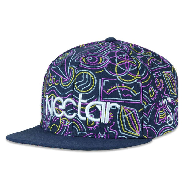 Nectar Sunglasses Purple Snapback