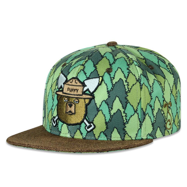 Puffy The Bear Trees Strapback