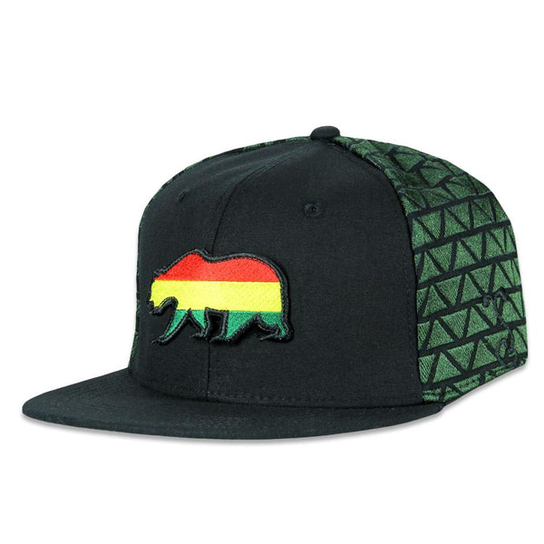 Removable Bear Rasta Lion Snapback