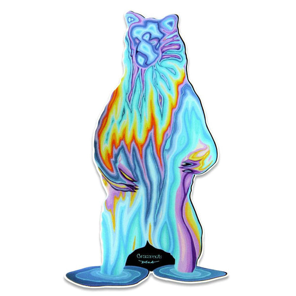 Dela GRC Drip Bear Sticker