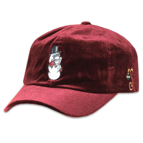 Frosty Nugs Maroon Dad Hat