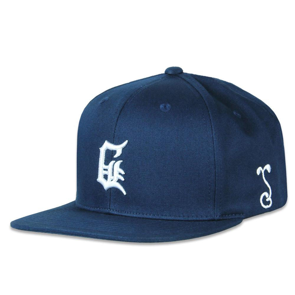 GRiZ Old School G Navy Snapback