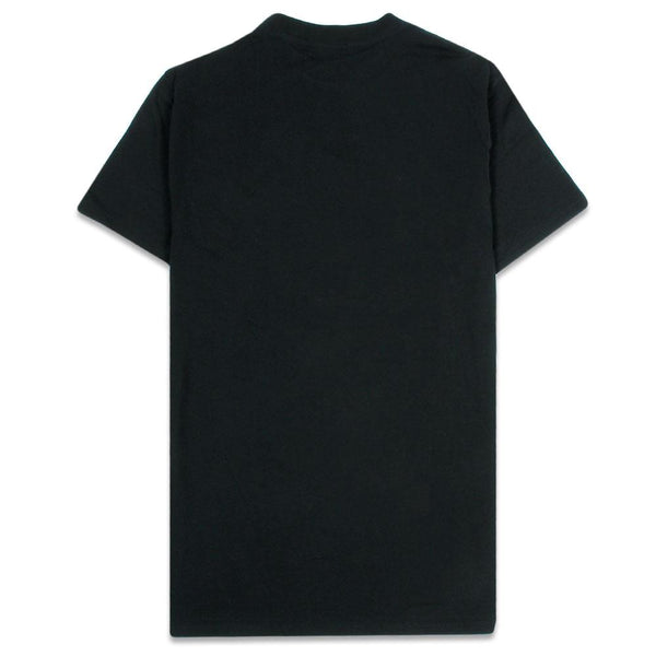 Hot Sauce Embroidered Black T Shirt