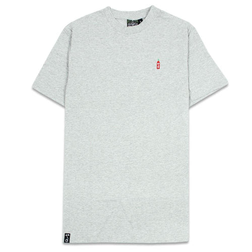 Hot Sauce Embroidered Gray T Shirt