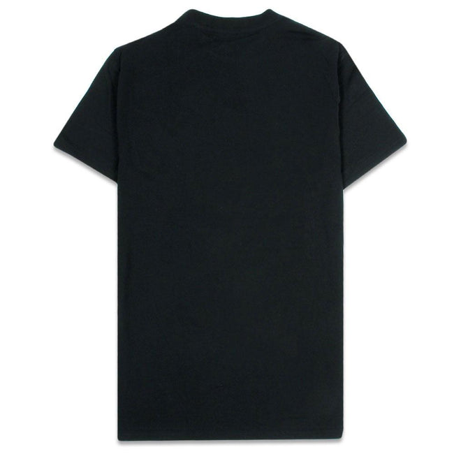 Toucan Tropics Embroidered Black T Shirt