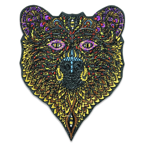 Phil Lewis Bear Iron-On Patch