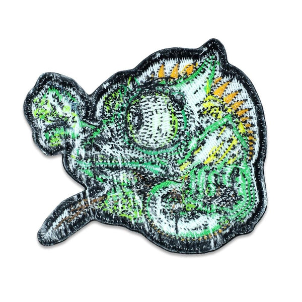 Aaron Brooks Green Chameleon Iron-On Patch