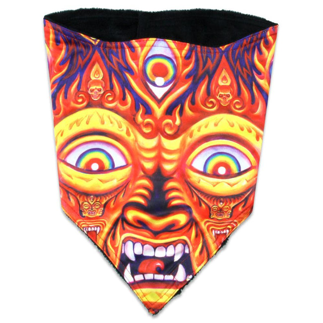 Alex Grey Wrathful Deity Facemask