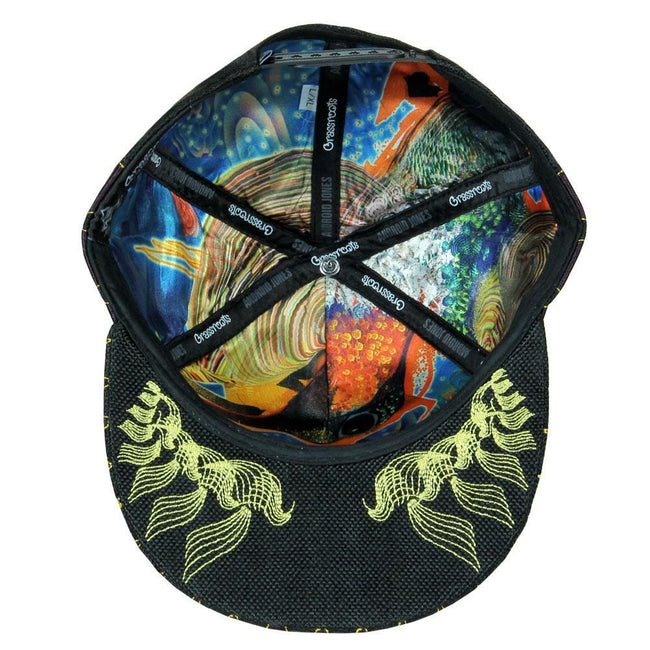 Android Jones V2 Humming Dragon Snapback Hat
