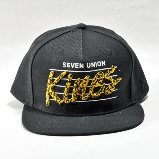 7 Union LA Kines Black Snapback - Grassroots California