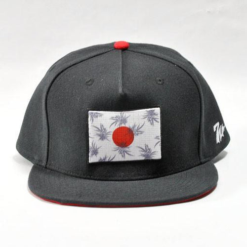 7 Union Rising Sun Black Snapback - Grassroots California