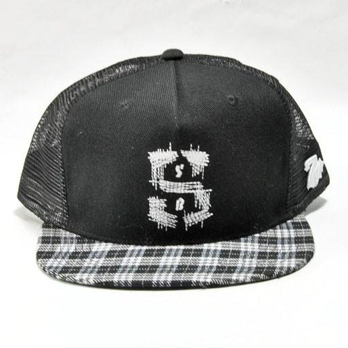 7 Union Black Plaid Snapback - Grassroots California