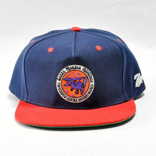 7 Union Santa Monica Airlines Blue Snapback - Grassroots California