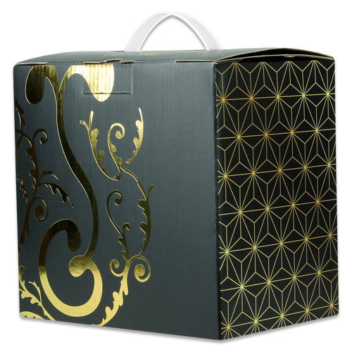 G Sprout Gold Foil 1 Hat Box