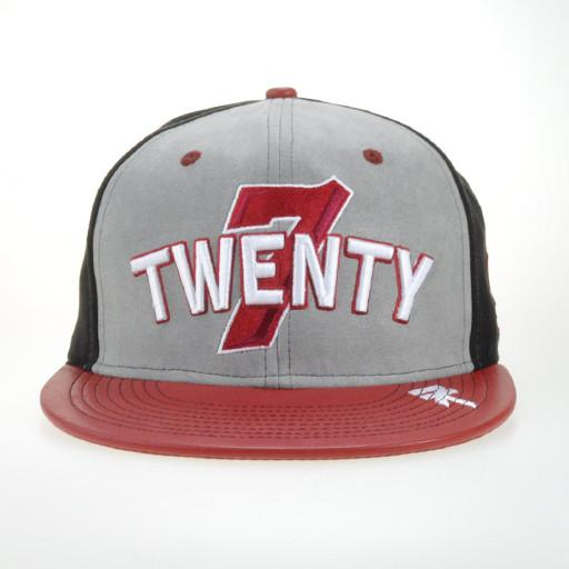 7Twenty 720 Boardshop Red Strapback - Grassroots California