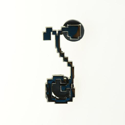 8 Bit G Sprout Black Pin