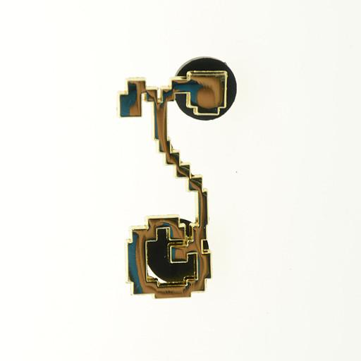 8 Bit G Sprout Gold Pin